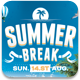 Summer Break Flyer Template - GraphicRiver Item for Sale