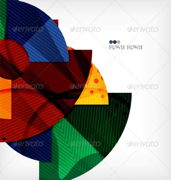 GraphicRiver Abstract Geometric Shapes Background 8133966
