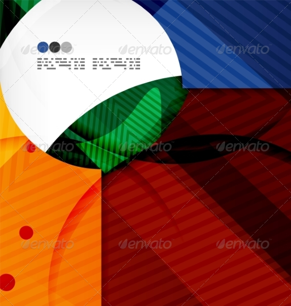 GraphicRiver Abstract Geometric Shapes Background 8134067