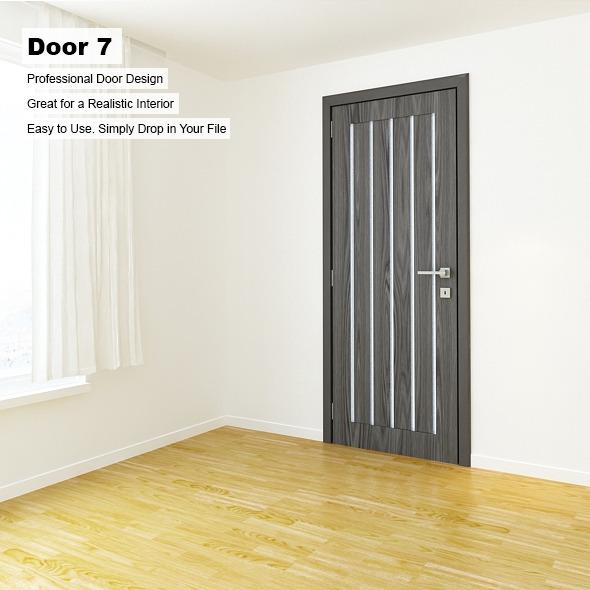 Door 7 - 3DOcean Item for Sale