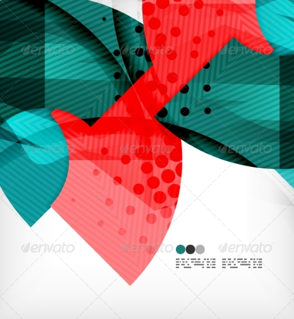 GraphicRiver Abstract Geometric Shapes Background 8134314