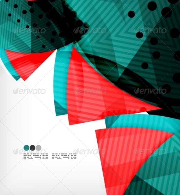 GraphicRiver Abstract Geometric Shapes Background 8134336