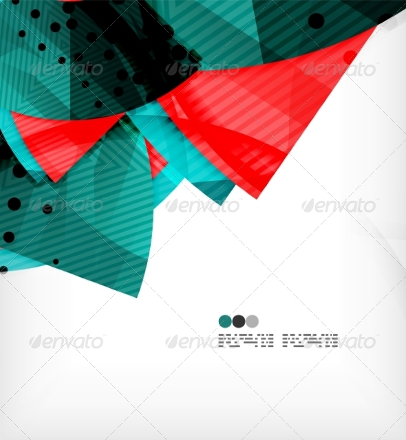 GraphicRiver Abstract Geometric Shapes Background 8134344