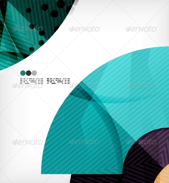 GraphicRiver Abstract Geometric Shapes Background 8134355