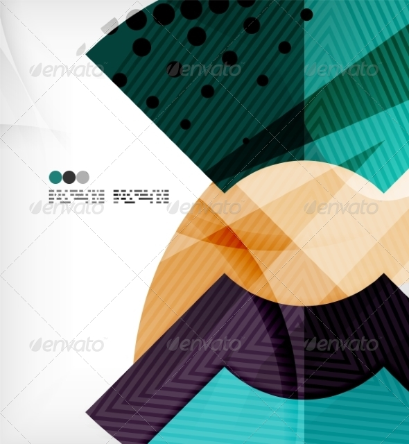 GraphicRiver Abstract Geometric Shapes Background 8134358