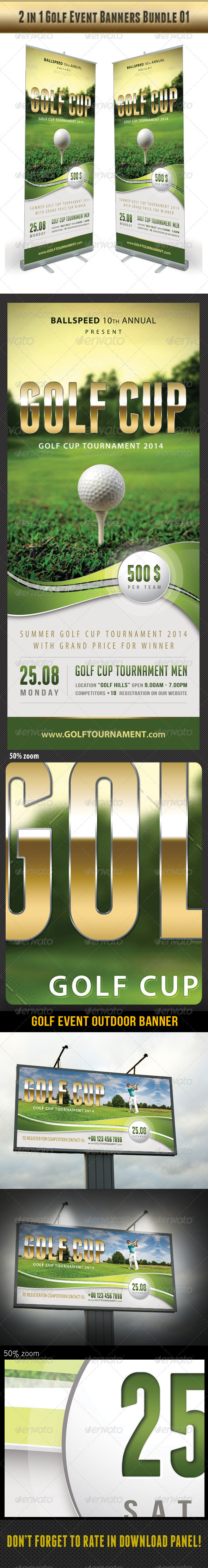 GraphicRiver 2 in 1 Golf Event Banners Bundle 01 8134452