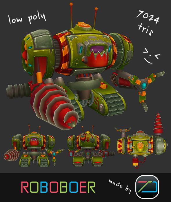3DOcean Roboboer 8134569