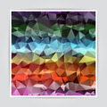Abstract Colorful Triangle Polygonal background - PhotoDune Item for Sale