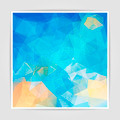 Abstract background with Triangular Polygonal  pattern - PhotoDune Item for Sale