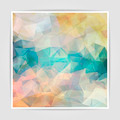 Abstract background with pastel colored Triangular Polygo - PhotoDune Item for Sale