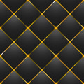 button-tufted black leather background - PhotoDune Item for Sale