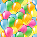 Multicolored glossy balloons seamless pattern - PhotoDune Item for Sale