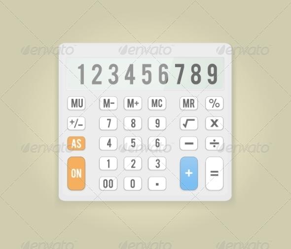 GraphicRiver Calculator 8134969