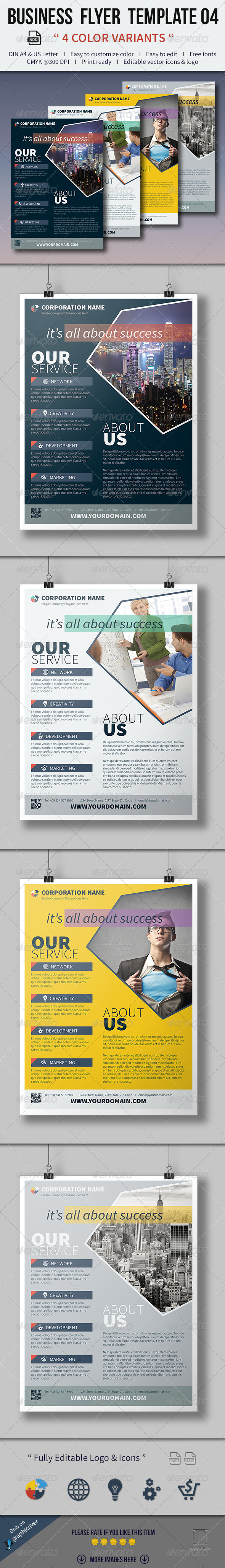 GraphicRiver Business Flyer Template 04 8134989