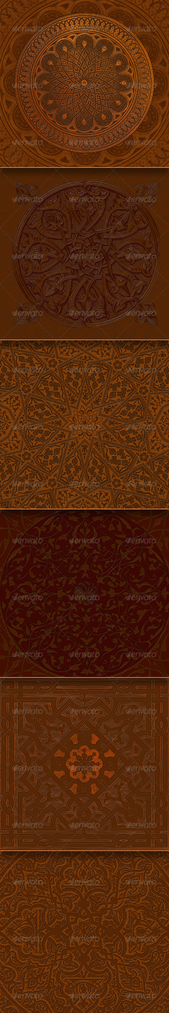 GraphicRiver Decorative Backgrounds 8135149