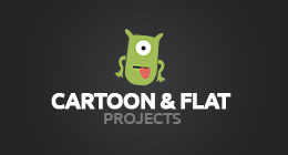 Cartoon and flat-style projects