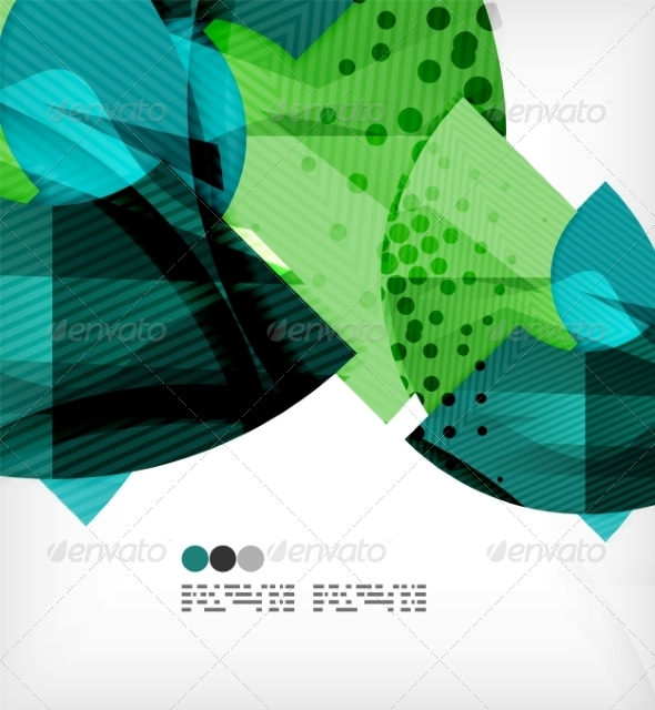 GraphicRiver Abstract Geometric Shapes Background 8135251