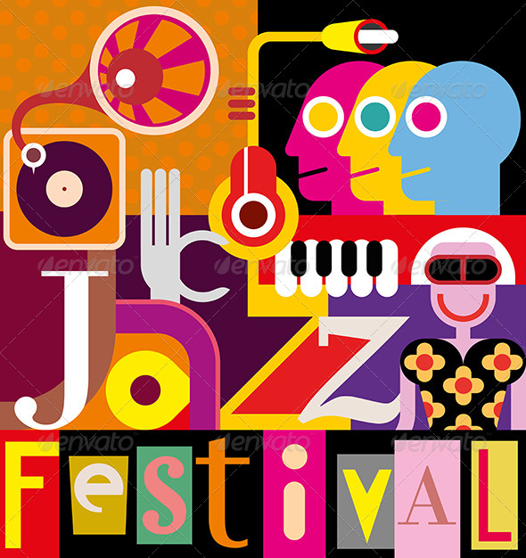 GraphicRiver Jazz Festival Poster 8135392