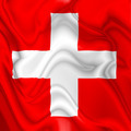 Switzerland Swiss waving silk Flag - PhotoDune Item for Sale