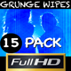 Grunge Transitions Wipes (15-pack) - VideoHive Item for Sale