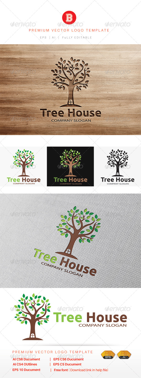 GraphicRiver Tree House 8135671