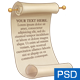 Scroll with Editable Text - GraphicRiver Item for Sale
