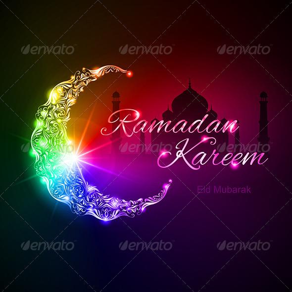 GraphicRiver Ramadan Kareem Greeting Card 8135811