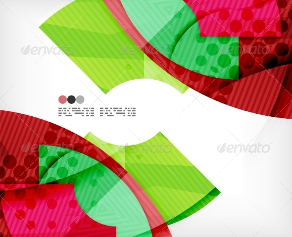 GraphicRiver Abstract Geometric Shapes Background 8135837
