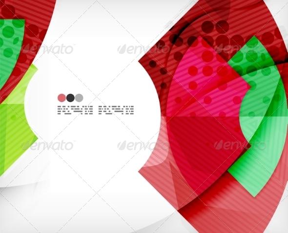 GraphicRiver Abstract Geometric Shapes Background 8135839