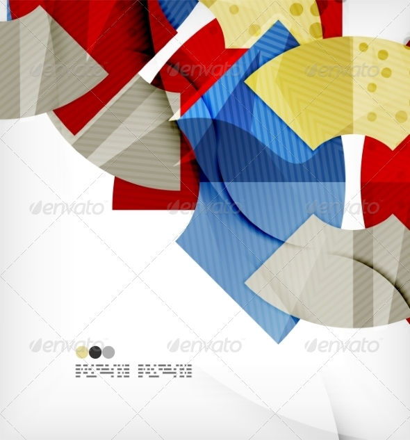 GraphicRiver Abstract Geometric Shapes Background 8136011
