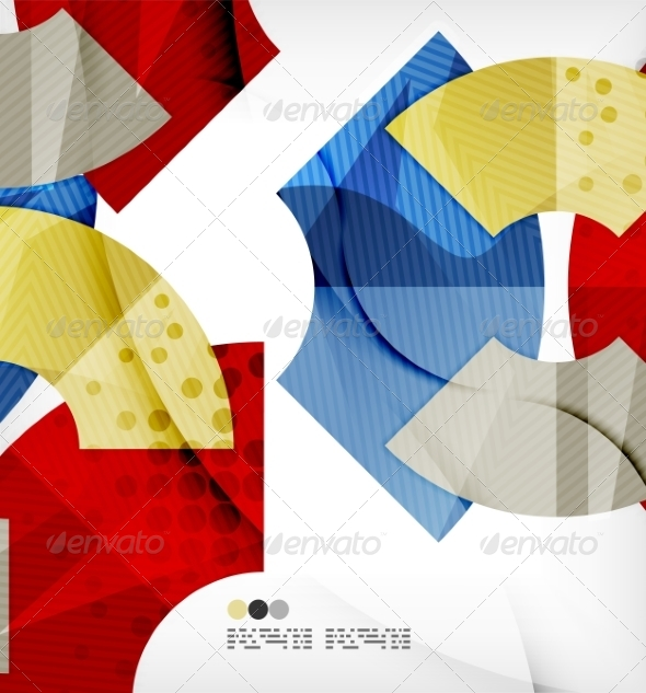 GraphicRiver Abstract Geometric Shapes Background 8136013