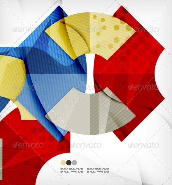 GraphicRiver Abstract Geometric Shapes Background 8136015