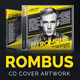 Rombus - DJ Mix CD Cover Artwork PSD - GraphicRiver Item for Sale