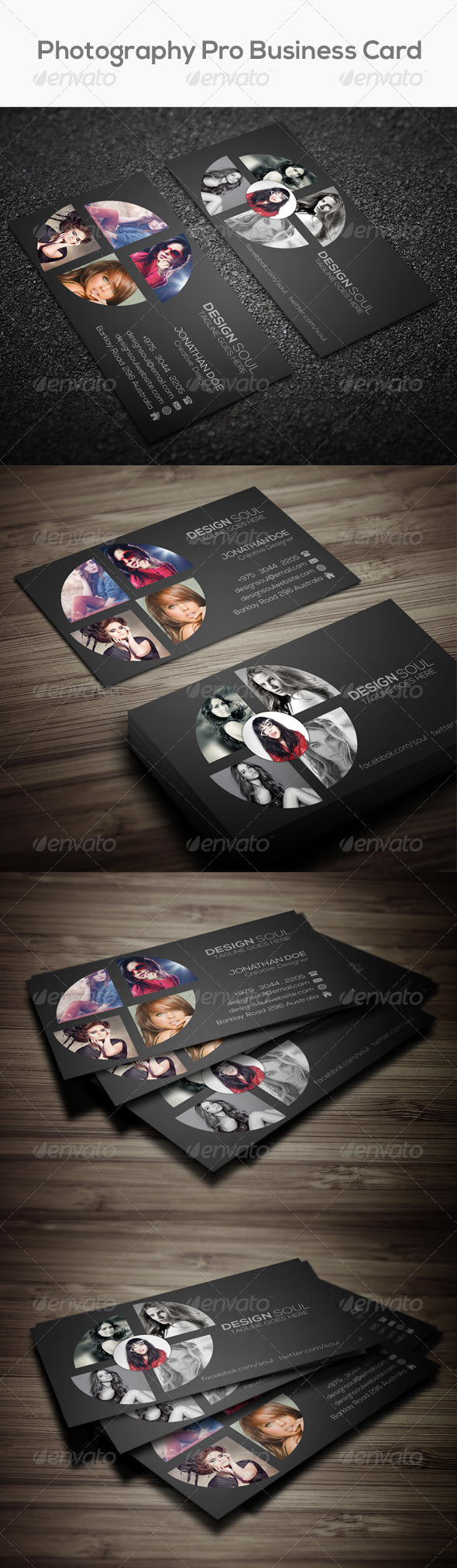 GraphicRiver Photography Pro Business Card 8136417