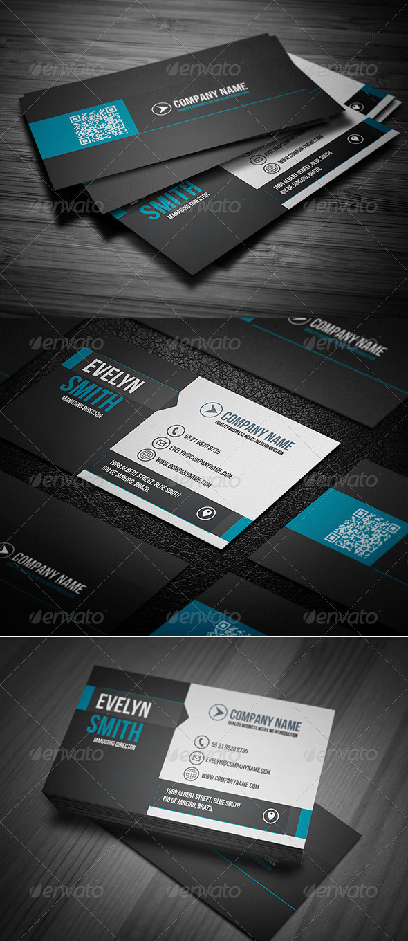 GraphicRiver Clean Business Card Vol 10 8136837