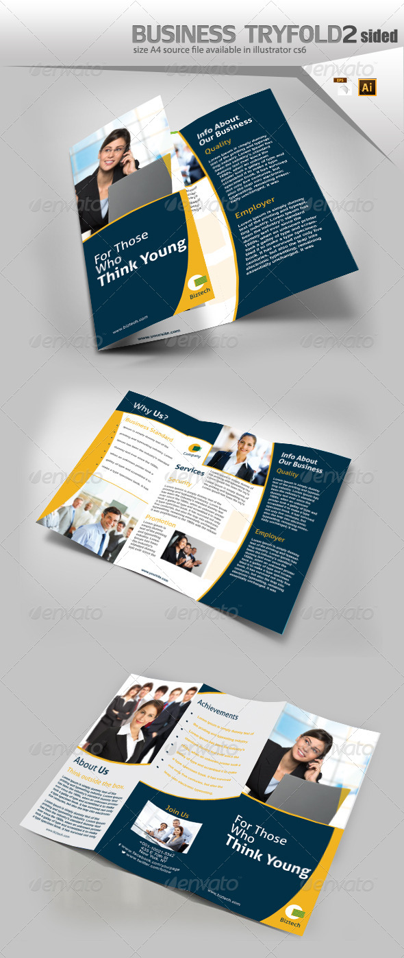 GraphicRiver Corporate Trifold Brochure 8137608