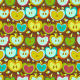 Seamless Pattern With  Vintage Apples - GraphicRiver Item for Sale