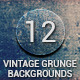 12 Vintage Grunge Backgrounds - GraphicRiver Item for Sale