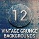 12 Vintage Grunge Backgrounds - GraphicRiver Item for Sale
