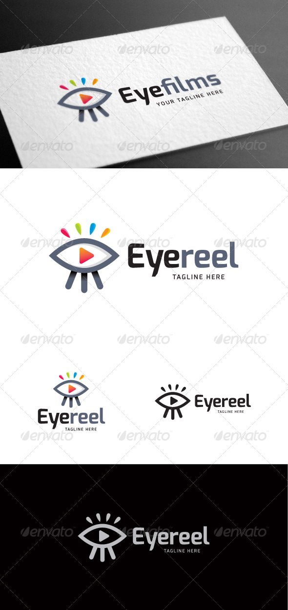 GraphicRiver Eyefilms Logo Template 8100397