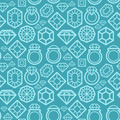 Seamless pattern with diamond icons - PhotoDune Item for Sale