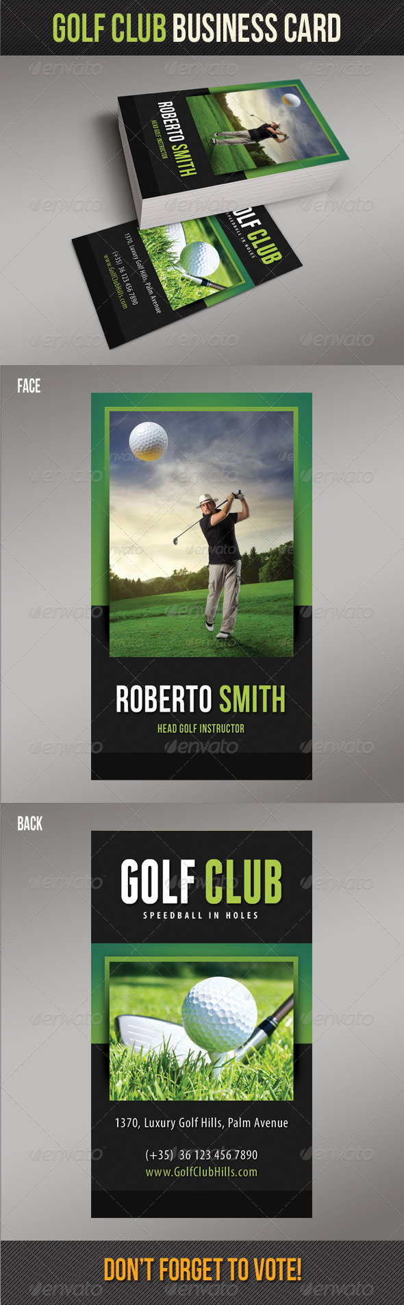 GraphicRiver Golf Club Business Card 02 8138599