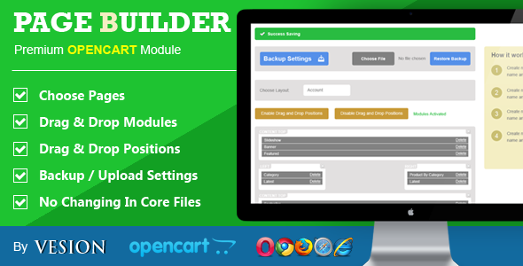 CodeCanyon Page Builder For Opencart 8138765