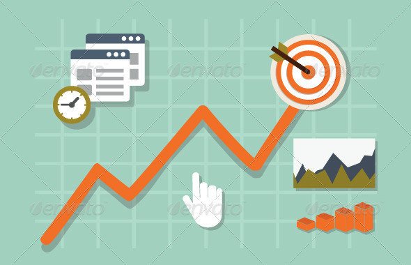 GraphicRiver Web Analytics Information and Development Website 8138803