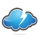 Cloud Power Logo - GraphicRiver Item for Sale