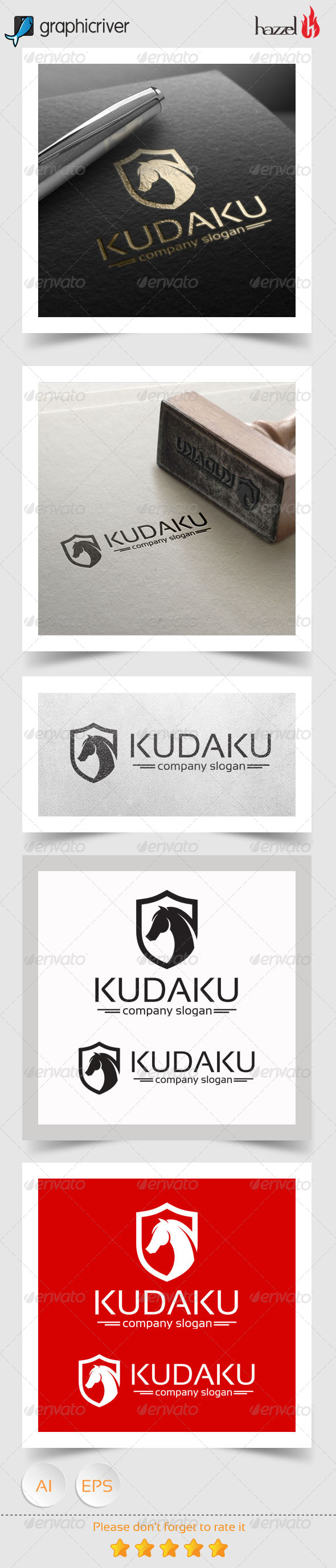 GraphicRiver Kudaku Logo 8138925