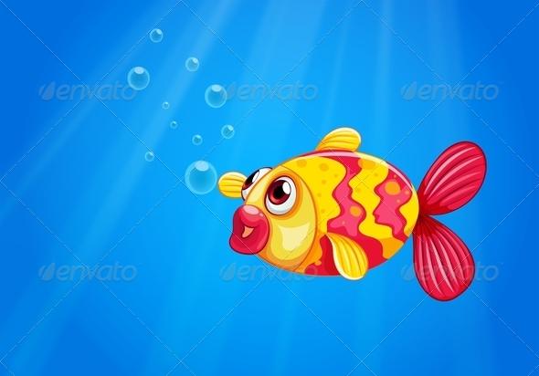 GraphicRiver Fish in the Sea 8138937