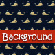 Stitched Whales Background - GraphicRiver Item for Sale