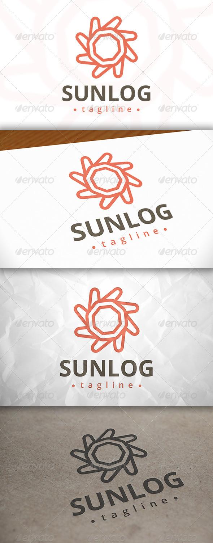 GraphicRiver Sun Modern Logo 8140482