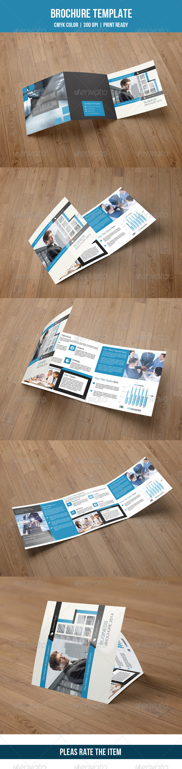 Square Trifold Business Brochure-V07